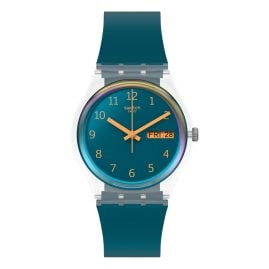 Swatch GE721 Wristwatch Blue Away