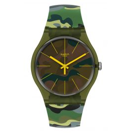 Swatch SUOG114 Watch Camouforest