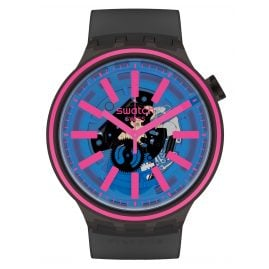 Swatch SO27B111 Big Bold Armbanduhr Blue Taste