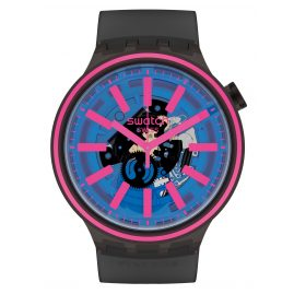 Swatch SO27B111 Big Bold Wristwatch Blue Taste