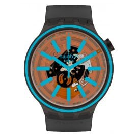 Swatch SO27B112 Big Bold Wristwatch Fire Taste