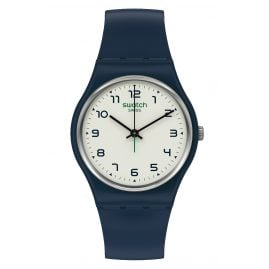 Swatch SO28N101 Armbanduhr Sigan Dunkelblau