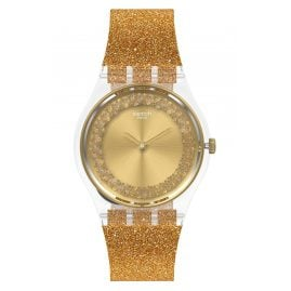 Swatch GE285 Women's Watch Sparklingot Gold Tone
