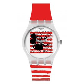 Swatch GZ352 Watch Keith Haring Mouse Mariniere