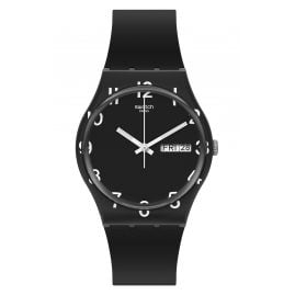Swatch GB757 Watch Over Black