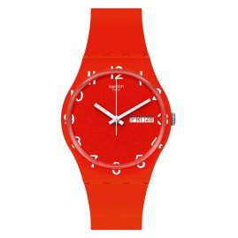 Swatch GR713 Watch Over Red