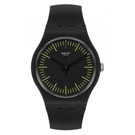 Swatch SUOB184 Armbanduhr Backnyellow
