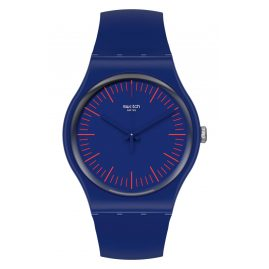 Swatch SUON146 Watch Bluenred
