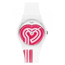 Swatch GW214 Ladies' Wristwatch Beatpink