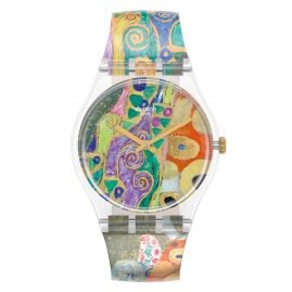 Swatch GZ349 Wristwatch Hope, II by Gustav Klimt, The Watch