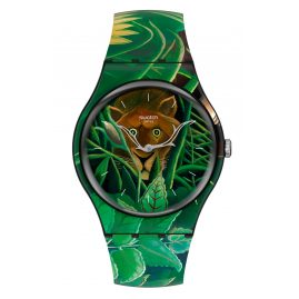 Swatch SUOZ333 Armbanduhr The Dream by Henri Rousseau, The Watch