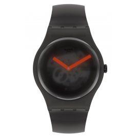 Swatch SUOB183 Armbanduhr Black Blur Schwarz