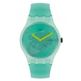Swatch SUOG119 Unisex Watch Nature Blur Green
