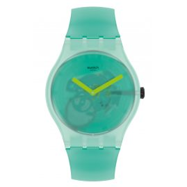 Swatch SUOG119 Armbanduhr Nature Blur Grün