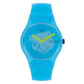 Swatch SUOS112 Unisex-Uhr Ocean Blur Blau