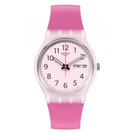 Swatch GE724 Damenuhr Rinse Repeat Pink