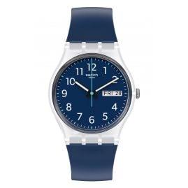 Swatch GE725 Unisex-Uhr Rinse Repeat Blau