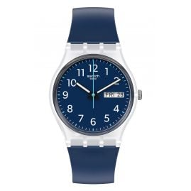 Swatch GE725 Unisex Watch Rinse Repeat Navy