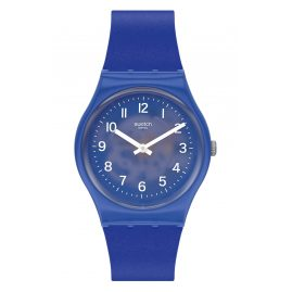 Swatch GL124 Unisex Armbanduhr Blurry Blue
