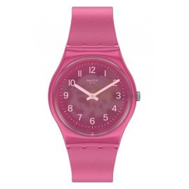 Swatch GP170 Damen-Armbanduhr Blurry Pink