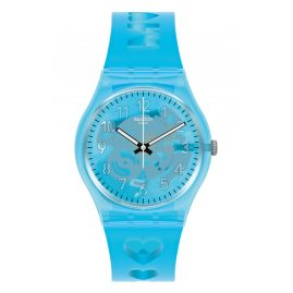 Swatch GZ353 Damenuhr Love from A to Z