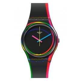 Swatch GB333 Armbanduhr Red Shore