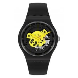 Swatch SO32B111 Herrenuhr Time To Yellow Big