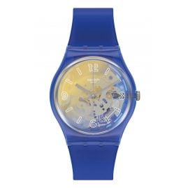 Swatch GN278 Armbanduhr Yellow Disco Fever