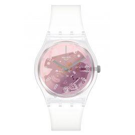 Swatch GE290 Armbanduhr für Damen Pink Disco Fever