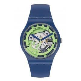 Swatch SUON147 Men's Watch Green Anatomy
