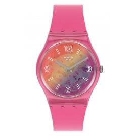 Swatch GP174 Ladies' Watch Orange Disco Fever