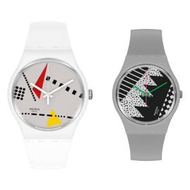 Swatch SZS34 Back to 1984 Special Set Memphis with 2 Watches