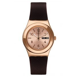 Swatch YLG701 Damenuhr Brownee