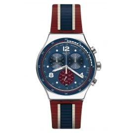Swatch YVS449 Herrenuhr Chronograph College Time