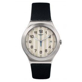 Swatch YWS437 Herrenuhr Côtes Silver