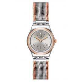 Swatch YSS327M Ladies' Wristwatch Full Silver Jacket