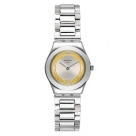 Swatch YSS328G Damenuhr Golden Ring