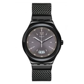 Swatch YWB405MB Armbanduhr TV Set 18 cm