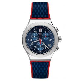 Swatch YVS452 Herren-Armbanduhr Chronograph Secret Operation