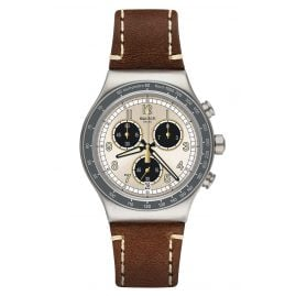 Swatch YVS455 Men's Watch Chronograph Rhum