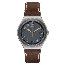 Swatch YWS445 Herrenuhr Brandy
