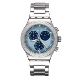 Swatch YVS459G Irony Herren-Chronograph Sky Icon