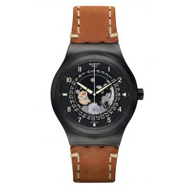 Swatch YIB402 Automatik-Herrenuhr Sistem Thought