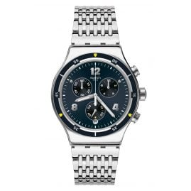 Swatch YVS457G Irony Men's Chronograph Meshme