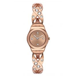 Swatch YSG165G Damenuhr Rose Hug