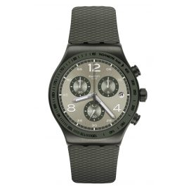 Swatch YVM404 Irony Herrenuhr Chronograph Turf Wrist