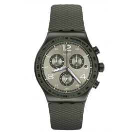 Swatch YVM404 Irony Men's Watch Chronograph Turf Wrist