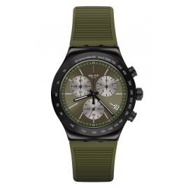 Swatch YVB411 Irony Herrenuhr Chronograph Jungle Snake