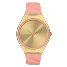 Swatch SYXG114 Irony Damenuhr Blush Quilted