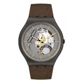 Swatch SS07M103 Irony Men's Watch Silver Skeleton
